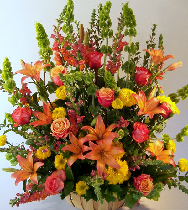 Fall Golden Bouquet by David Jeffrey Florist