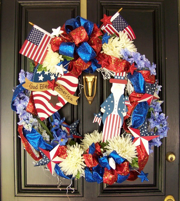 Fourth of July Wreath