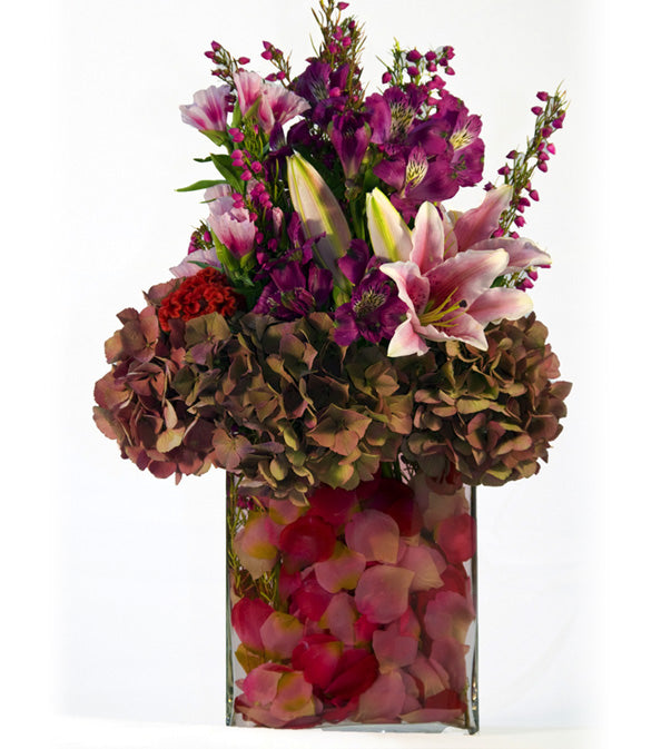 Romantic Flowers by David Jeffrey Florist