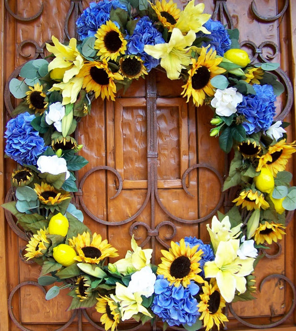 David Jeffrey's Spring Wreath