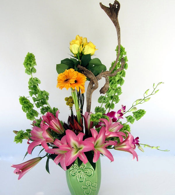 Custom Contemporary Design By David Jeffrey Florist