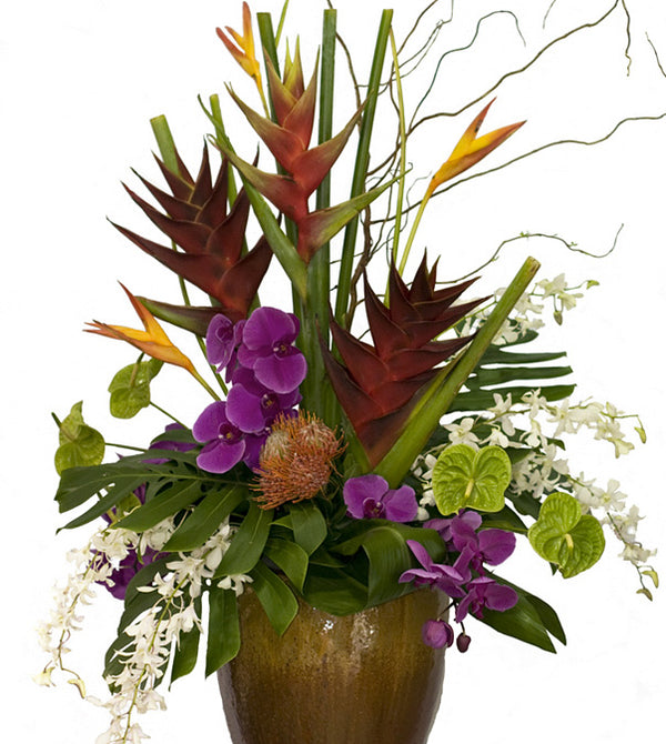 Tropical Extravaganza by David Jeffrey Florist