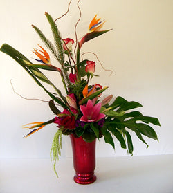 Tropical Paradise by David Jeffrey Florist