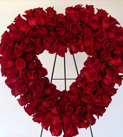 Wreath Rose Heart