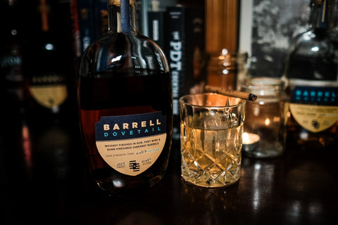 Barrell Dovetail Whiskey Cocktail