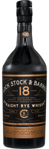 Lock Stock & Barrel 18 year Rye Whiskey