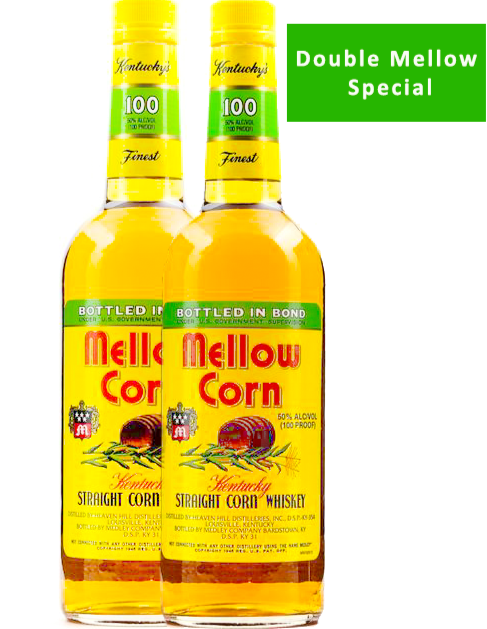 2 x Mellow Corn Whiskey