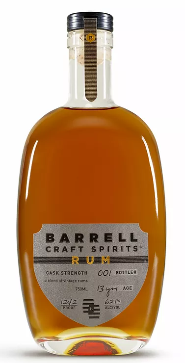 Barrell Craft Spirits RUM 62.1% abv 750ml