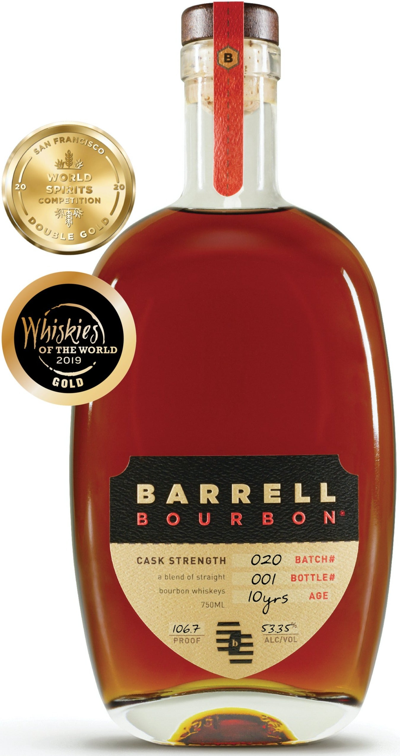 Barrell Bourbon Batch 020 53.35% abv 750ml
