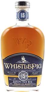 Whistle Pig Vermont Estate Oak 15 Year Old Straight Rye Whiskey (750ml)