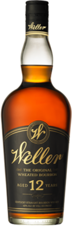 Weller 12 year old Bourbon Whiskey 750ml