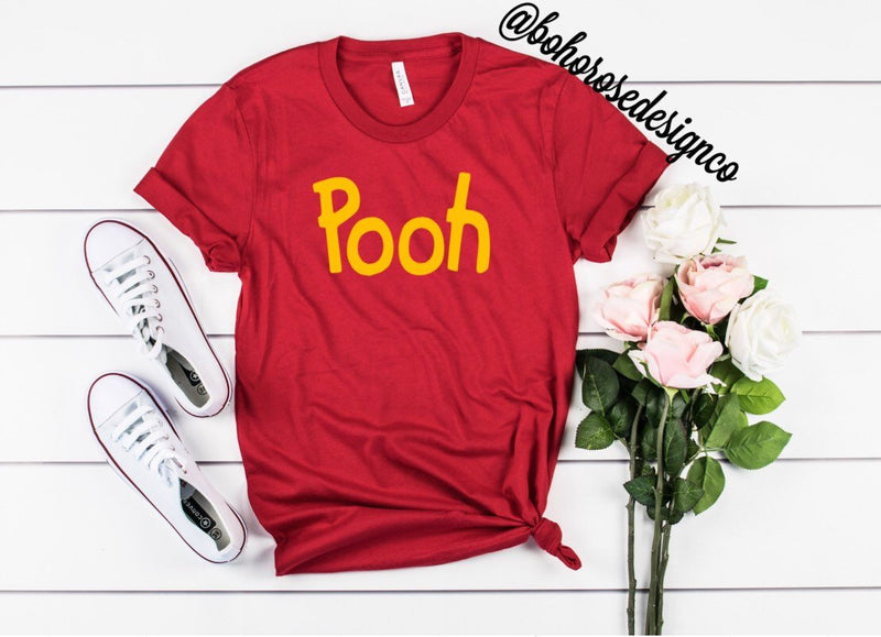 Pooh shirt- Winnie the Pooh - womens disney shirt- unisex disney shirt- cute disney shirt- disney inspired shirt