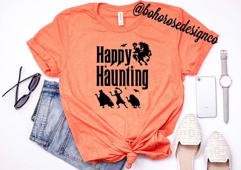 Happy Haunting shirt