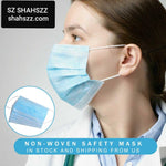 Coronavirus covid-19 Safety Surgical Masks_ 200 pcs TOTAL = $800 /  per piece $4 _ Free Shipping Worldwide _3 Laye Mask virus dust protection Masks Disposable Face Masks Elastic Ear Loop Disposable Dust Filter Safety Mask