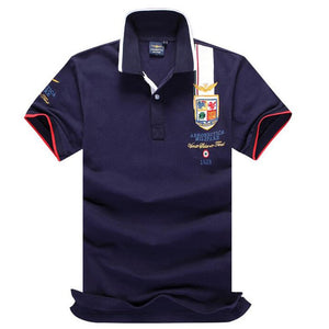 FREE SHIPPING _ Hot Sale fashion fitness embroidery aeronautica militare men polo famous brand clothing Air Force One mens Polo homme