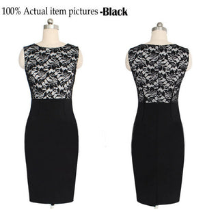 FREE SHIPPING _ explosion of foreign trade and the wind hot lace stitching Slim Pencil mini Dresses WJ219 vestidos