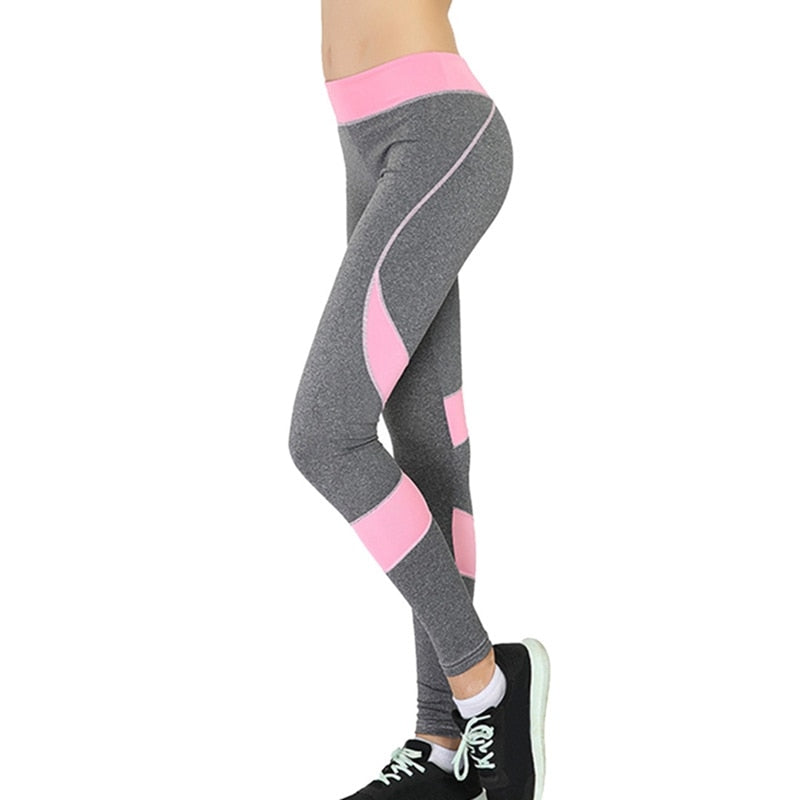 FREE SHIPPING _ Vertvie Sexy Push Up Leggings Women Heart Patchwork Fitness Leggins Femme Activewear Breathable Stretched Plus Size Pants Women