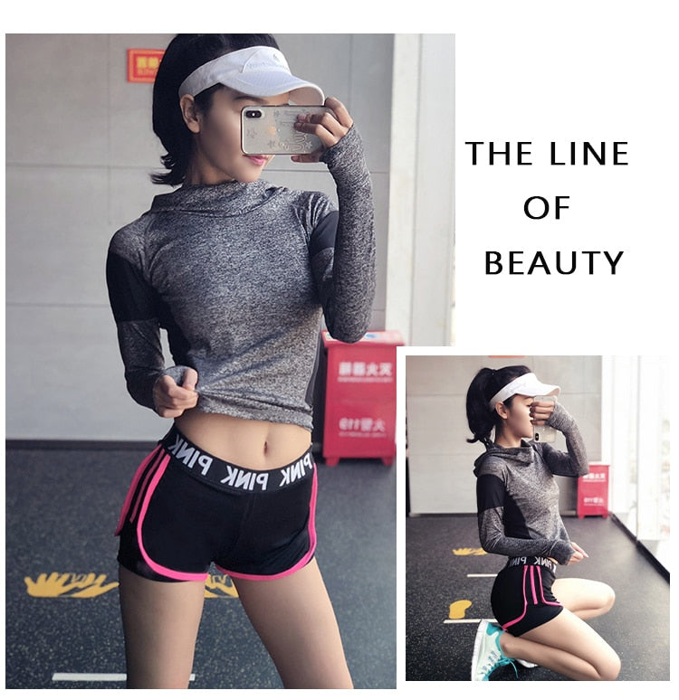 FREE SHIPPING WORLDWIDE _ Sports runing Shorts Women Yoga Shorts Push Hips Sexy Middle Waisted Gym Fitness Elastic Quick Dry Running Shorts