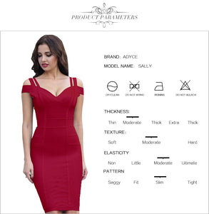FREE SHIPPING _ New Summer Bandage Dress Women Vestidos Verano 2019 Sexy V Neck Off Shoulder Celebrity Party Dress Sexy Club Bodycon Dress