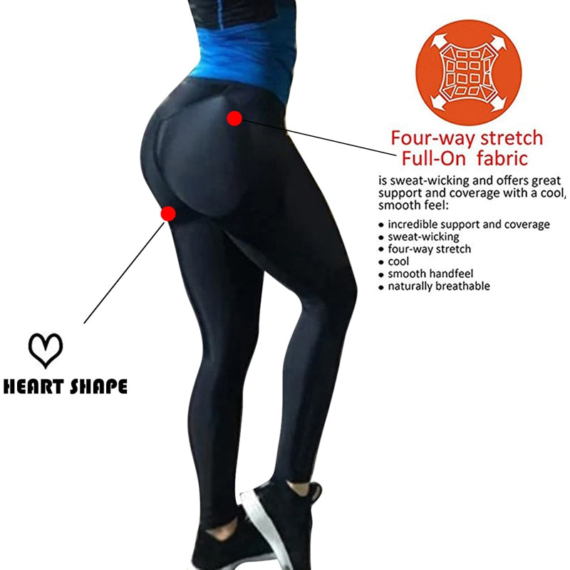 FREE SHIPPING _ 2019 New Hot Heart Shape Booty Leggings PU Leather Patchwork Skinny Long Pants Women Push Up Workout Sporting Leggings