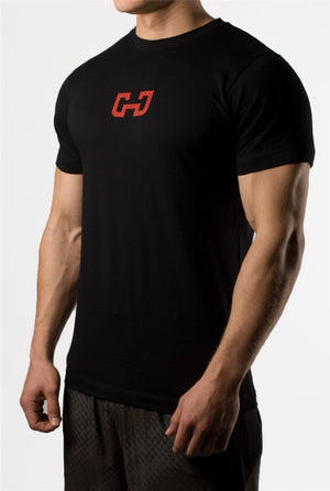 FREE SHIPPING _ 2019 Summer Men Gym T shirt Crossfit Fitness Bodybuilding Letter Printed Male Short Cotton Running Sport Tee Tops 5 Color