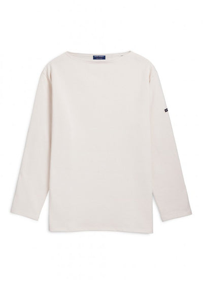 Guildo - Boat Neck Breton Shirt Heavyweight Cotton | Unisex Fit