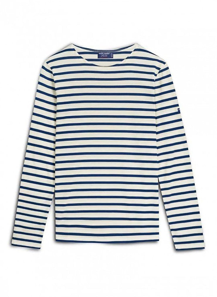 Saint James Authentic Breton Stripe Shirt | Soft Cotton | Unisex