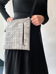 Acrylic Square Cross-Body Bag