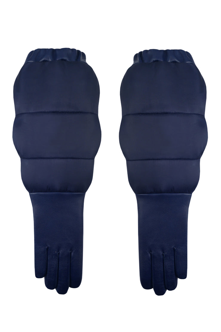 Aristide Long Leather Duvet Gloves