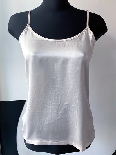 Majestic silk and linen Tank Top