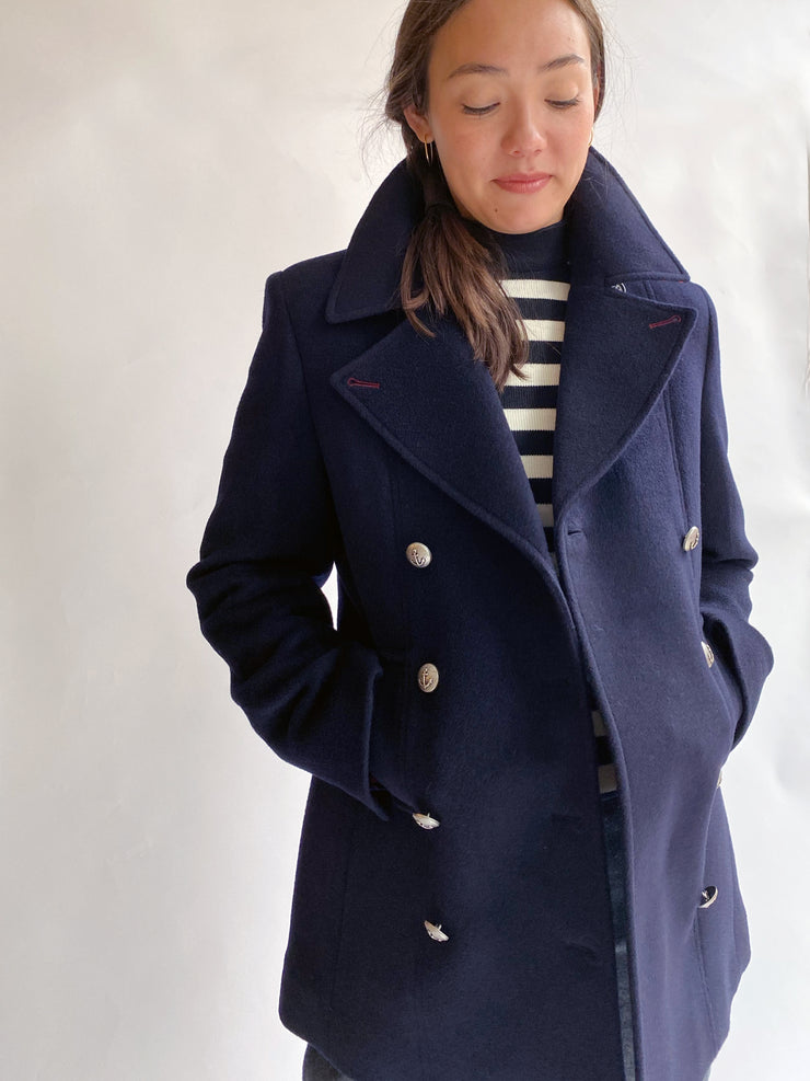 Saint James Briac coat jacket