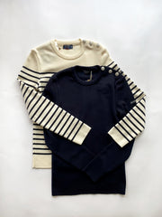 Saint James Maree Navy Sweater