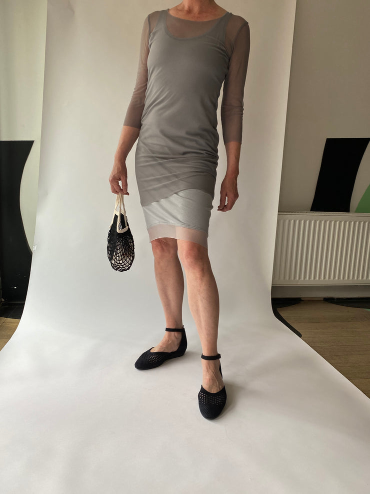 Art Point mesh dress