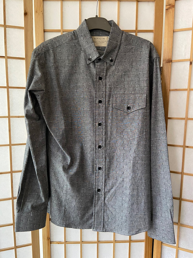 Kovalum Charcoal Chambray Shirt