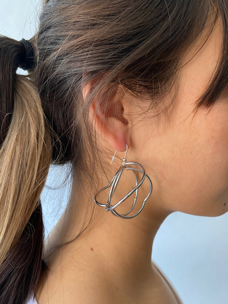 Materia Cage Earrings