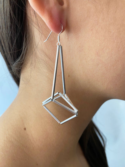 Materia Chandelier Earrings