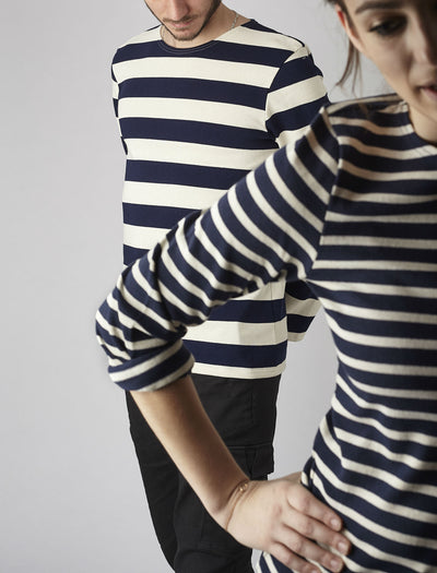Authentic Breton Stripe Shirt Meridien Moderne - Classic