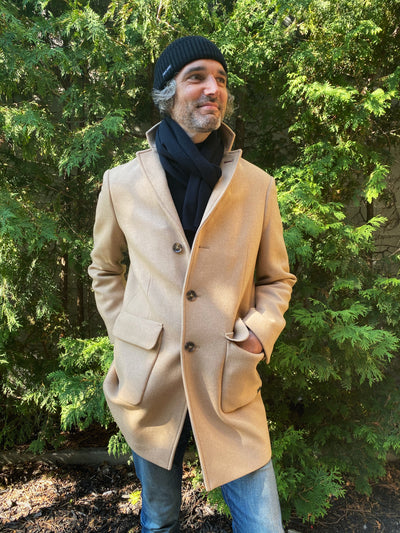 Saint James St Gaspard men coat