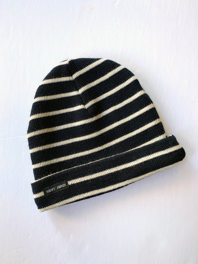 Saint James Wool Bonnet Rayés A