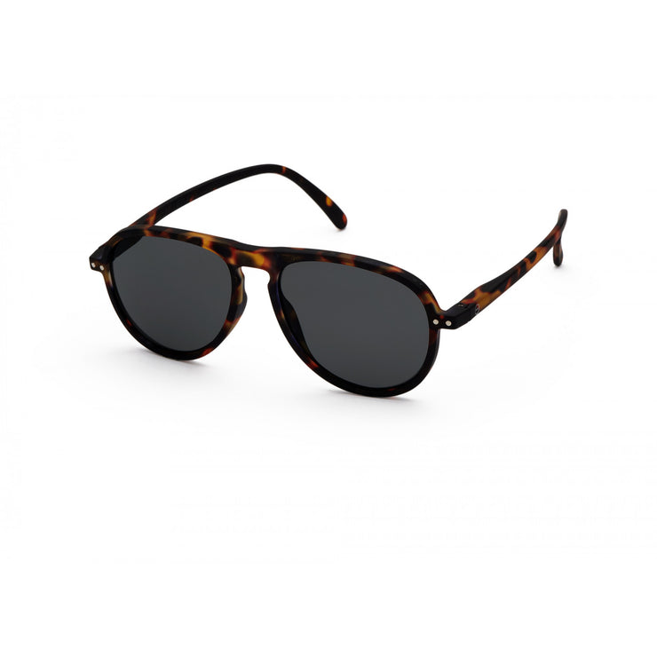IZIPIZI #I Sunglasses Tortoise with grey lenses