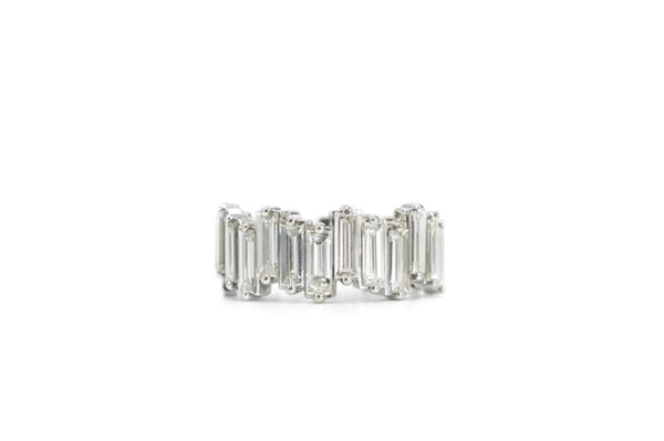 Unruly Baguette Diamond Band