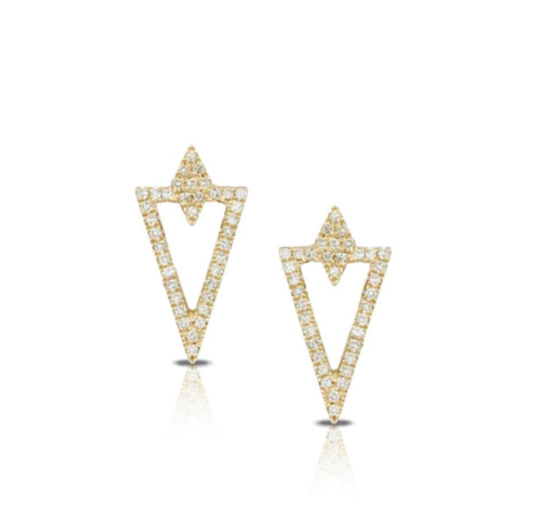 The V Earrings