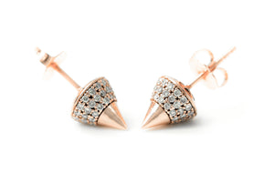 Diamond Spike Studs