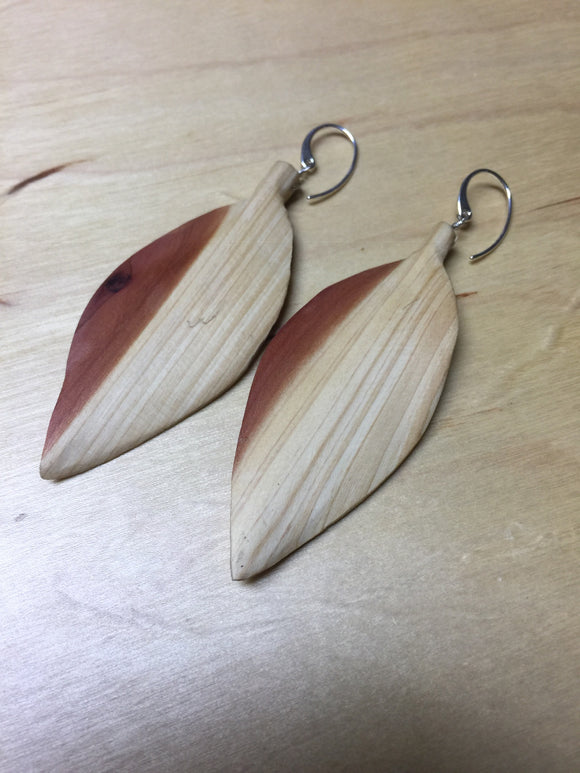 Insouciant Studios Cedar Leaf Earrings
