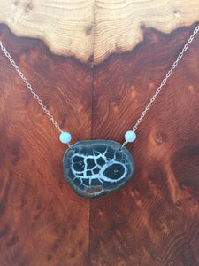 Concretion Necklace Septarian Nodule