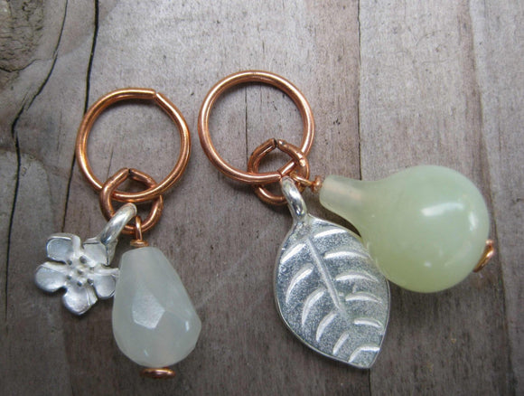 Pear Blossom Stitch Markers
