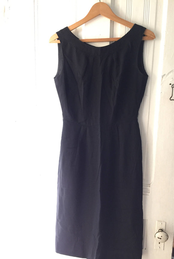 Vintage Little Black Sheath Dress