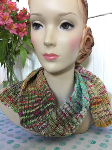 Amazing Happy Stripey Knit Scarf