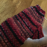 Begonia Hand Knit Lace Fingerless Mitts