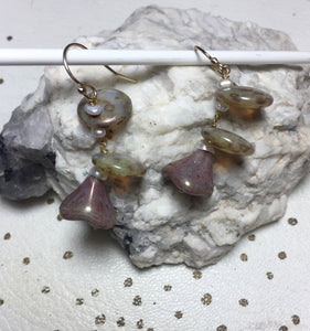 Insouciant Studios Succulent Earrings